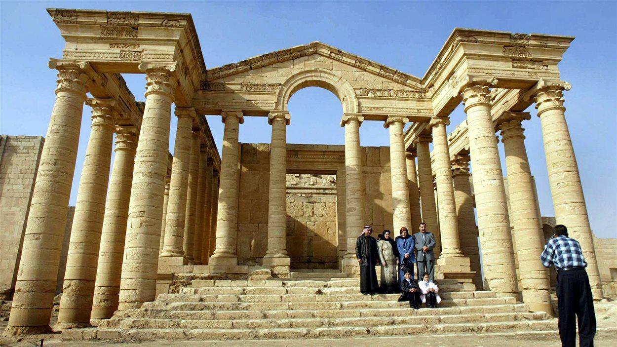 Temple du site historique de Hatra.