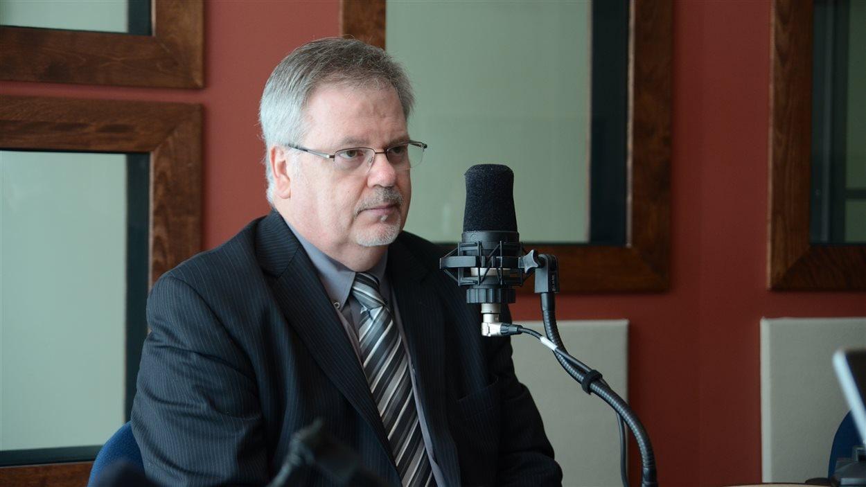 Le nouveau PDG du futur Centre intégré de santé et de services sociaux de l'Abitibi-Témiscamingue (CISSS), Jacques Boissonneault
