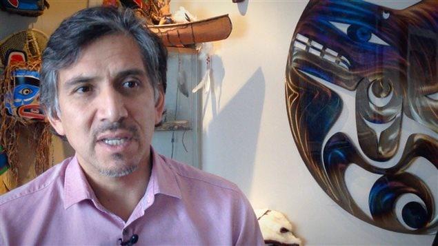 Dr Stanley Vollant, premier chirurgien autochtone du Québec, instigateur de la marche Innu Meshkenu (Bureau édito)
