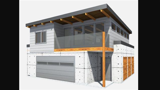 Des garages avec appartement pour augmenter la densit for Lien dans une nouvelle fenetre