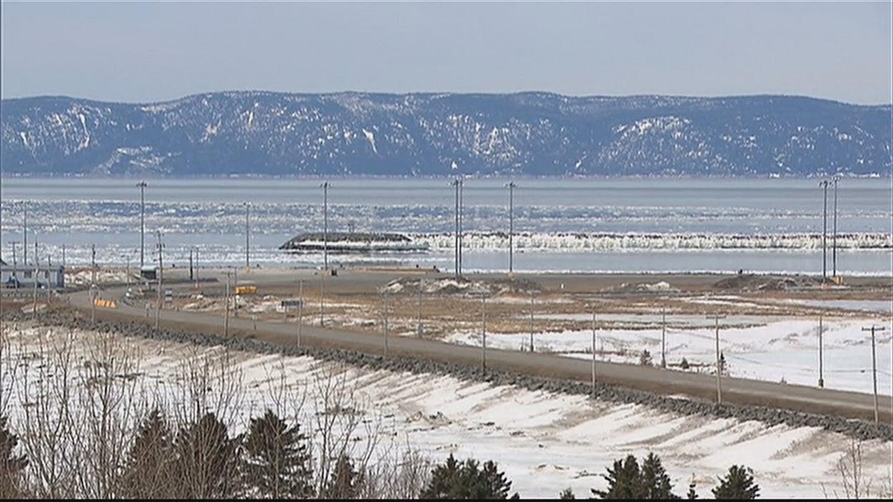 Le port de Gros-Cacouna