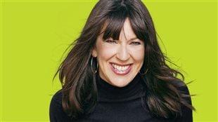 Marie-Louise Arsenault, l'animatrice de « Plus on est de fous, plus on lit! » sur ICI Radio-Canada Première