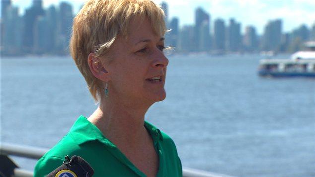 Claire Martin est candidate du Parti vert du Canada