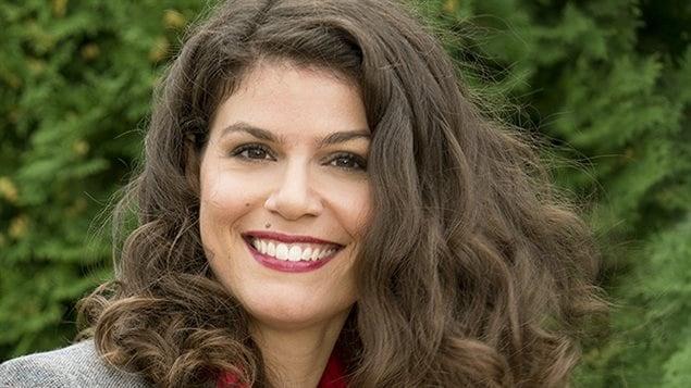 Catherine Mercier, l'animatrice de « La semaine verte » sur ICI Radio-Canada télé.