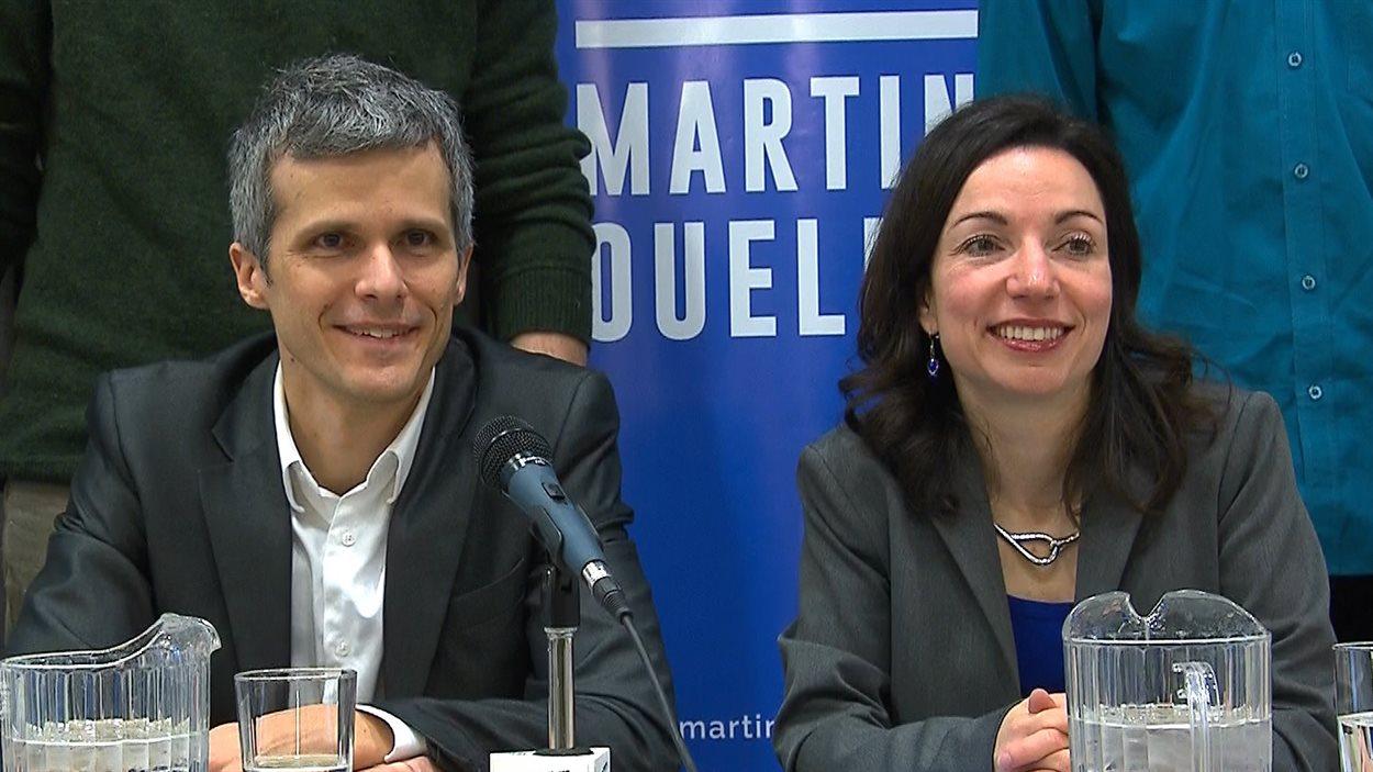L'ancien président d'ON, Nic Payne, appuie la candidate à la direction du PQ Martine Ouellet.