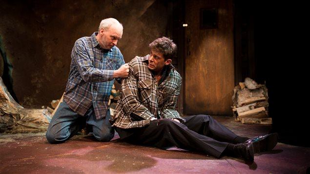 Gary Boudreault et David Granger sont les deux protagonistes de la nouvelle pièce de la Troupe du Jour.