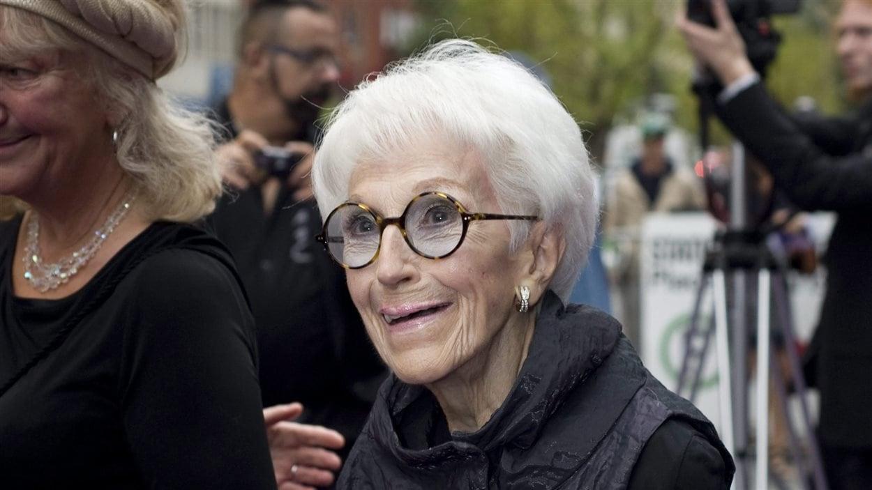 La comédienne Janine Sutto en 2011