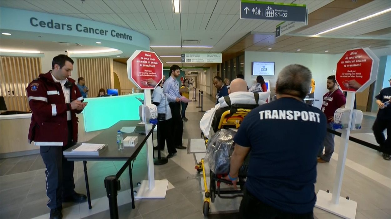Un patient transféré du Roey Victoria au CUSM