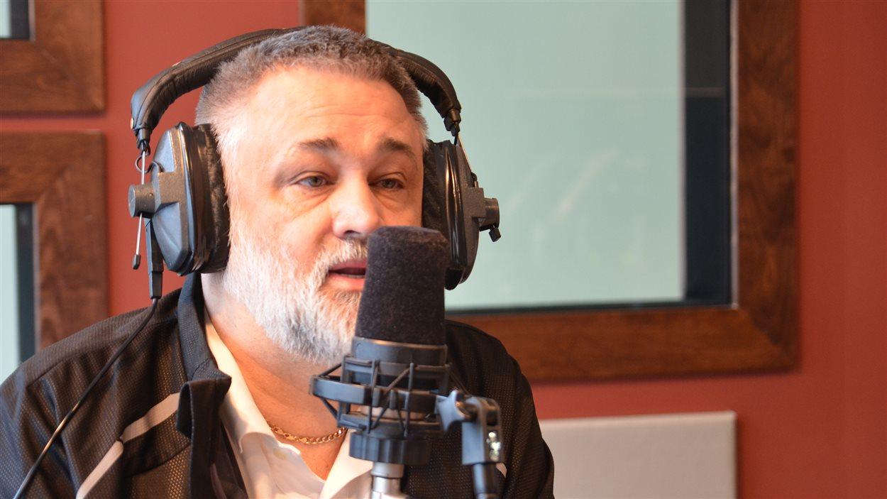 Sylvain Blais, directeur général du Cégep de l'Abitibi-Témiscamingue