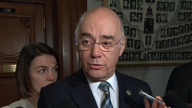 Le ministre de l'Économie, de l'Innovation et des Exportations, Jacques Daoust.