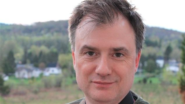 Martin Saindon, maire de Dixville