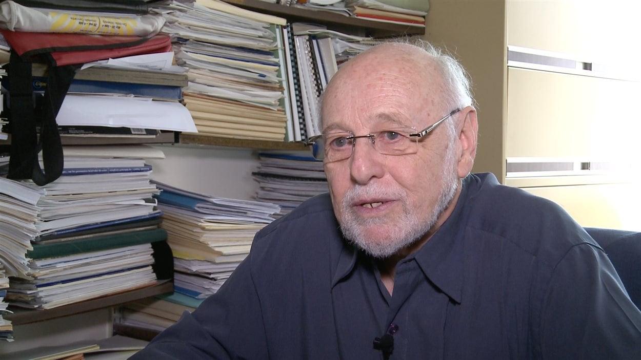 Jacques Légaré, professeur et démographe, Université de Montréal.