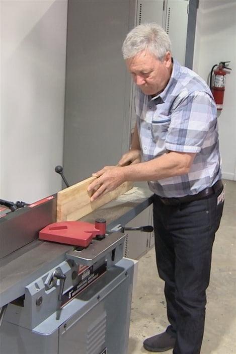 L'atelier de menuiserie à Rivière-du-Loup