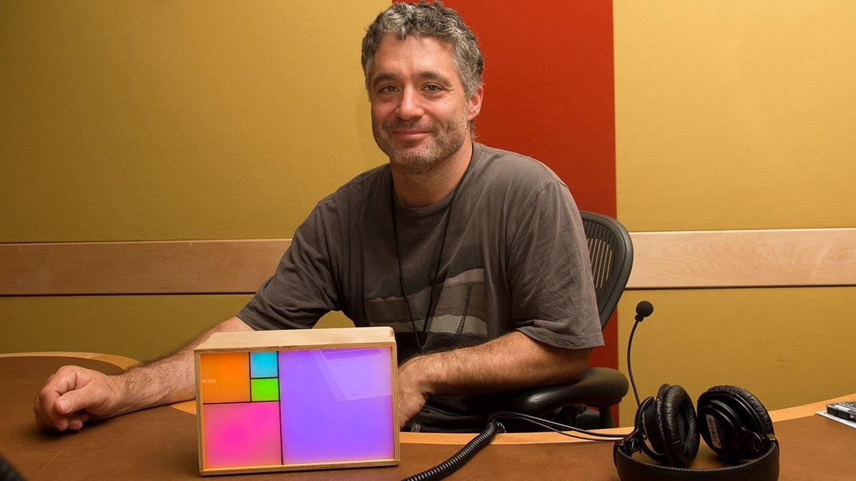 Philippe Chrétien et son horloge Fibonacci