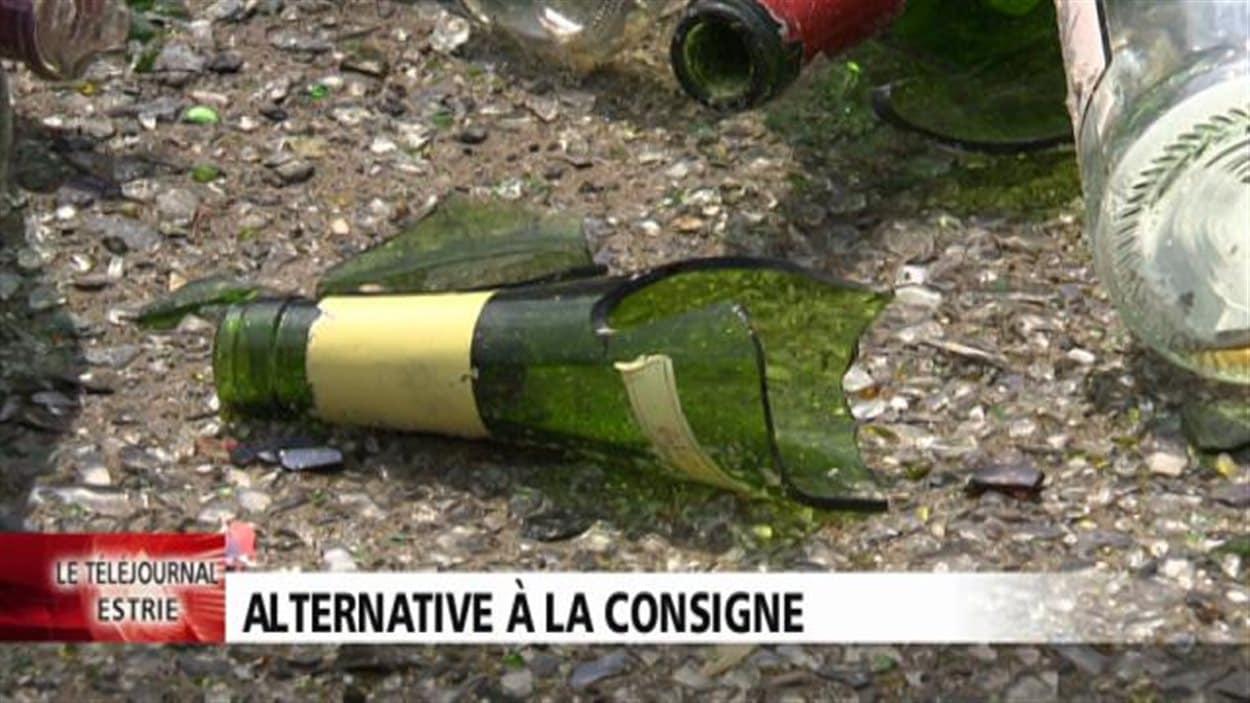 Gaudreau Environnement a une autre solution que la consigne des bouteilles de vin afin de favoriser le recyclage du verre.