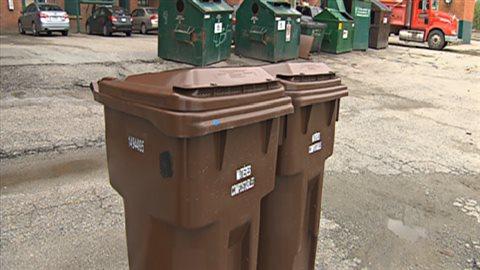 Projet pilote de compostage au centre-ville de Sherbrooke