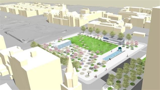 Une image du futur square Viger