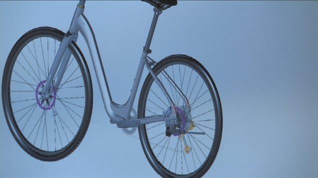 Conception d'un vélo par ordinateur