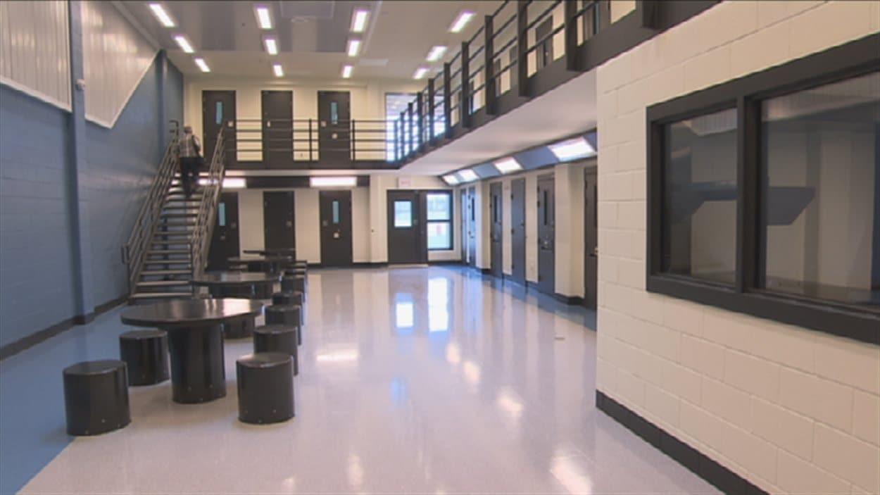 Une aile de la prison de Roberval