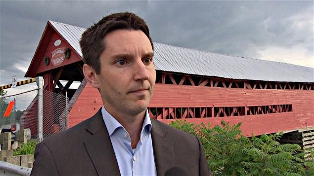 André Fortin, député libéral de Pontiac. (30-06-15)