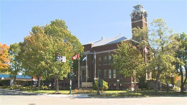L'hôtel de ville de Rivière-du-Loup