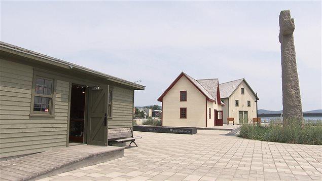 Le site historique Gaspé, Berceau du Canada