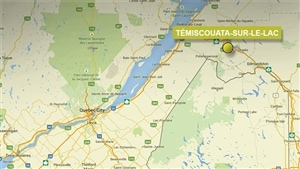 Carte Témiscouata-sur-le-Lac