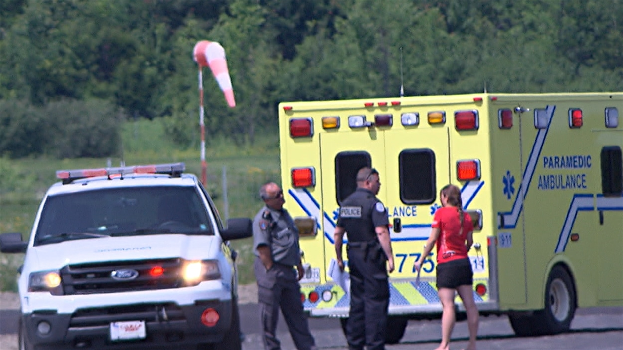 parachutisme quebec accident