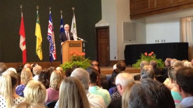 Peter Stoicheff, doyen du collège des arts et sciences, a été nommé recteur de l'Université de la Saskatchewan