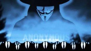 Le collectif Anonymous regroupe des activistes qui s'expriment de façon anonyme sur le web.