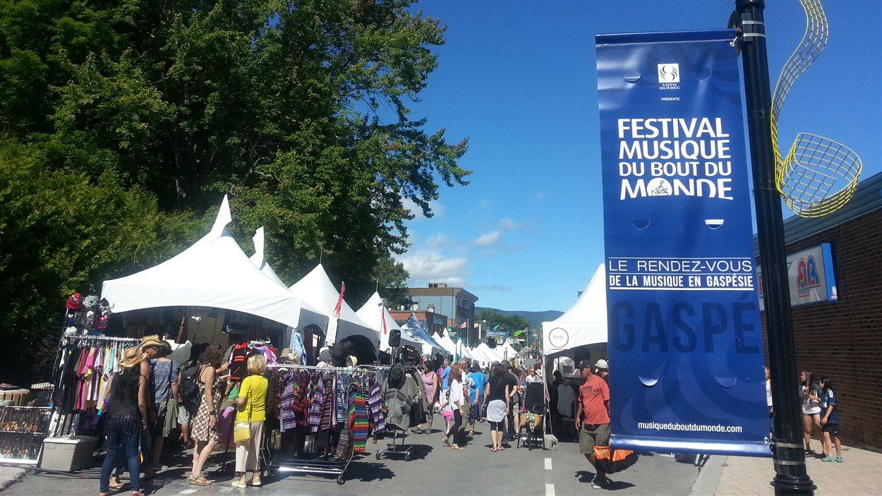 Le Festival Musique du bout du monde à Gaspé