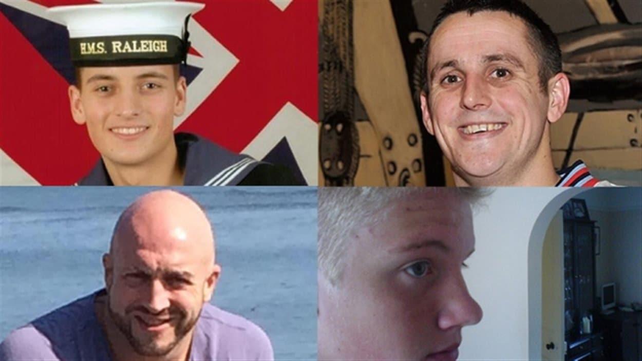 Les quatre marins britanniques accusés d'agression sexuelle à Halifax
