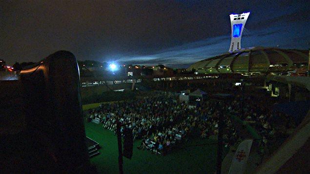 Le nouveau film de Philippe Falardeau a été présenté au parc Olympique à Montréal.