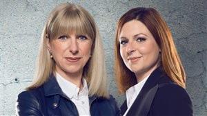 Isabelle Richer et Marie-Maude Denis, coanimatrices d'Enquête