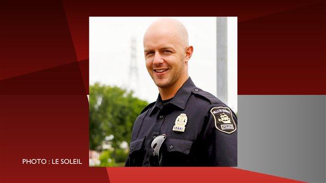 Simon Beaulieu, l'agent qui fait l'objet d'accusations criminelles.