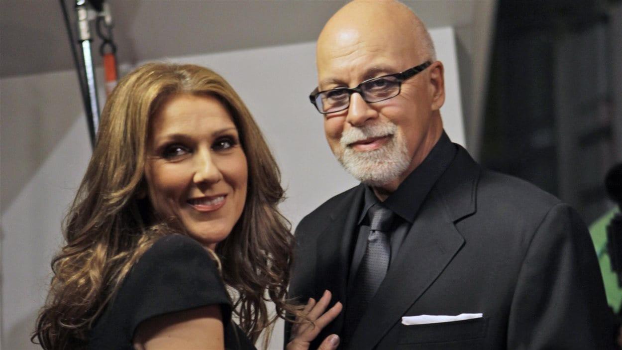 Céline Dion et René Angélil en 2010