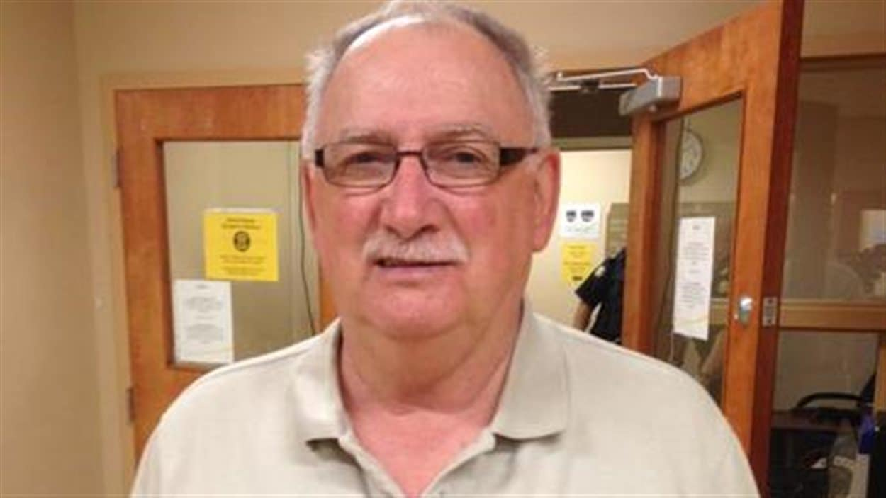 Gérard Comeau est accusé d'avoir importé trop d'alcool du Québec au Nouveau-Brunswick