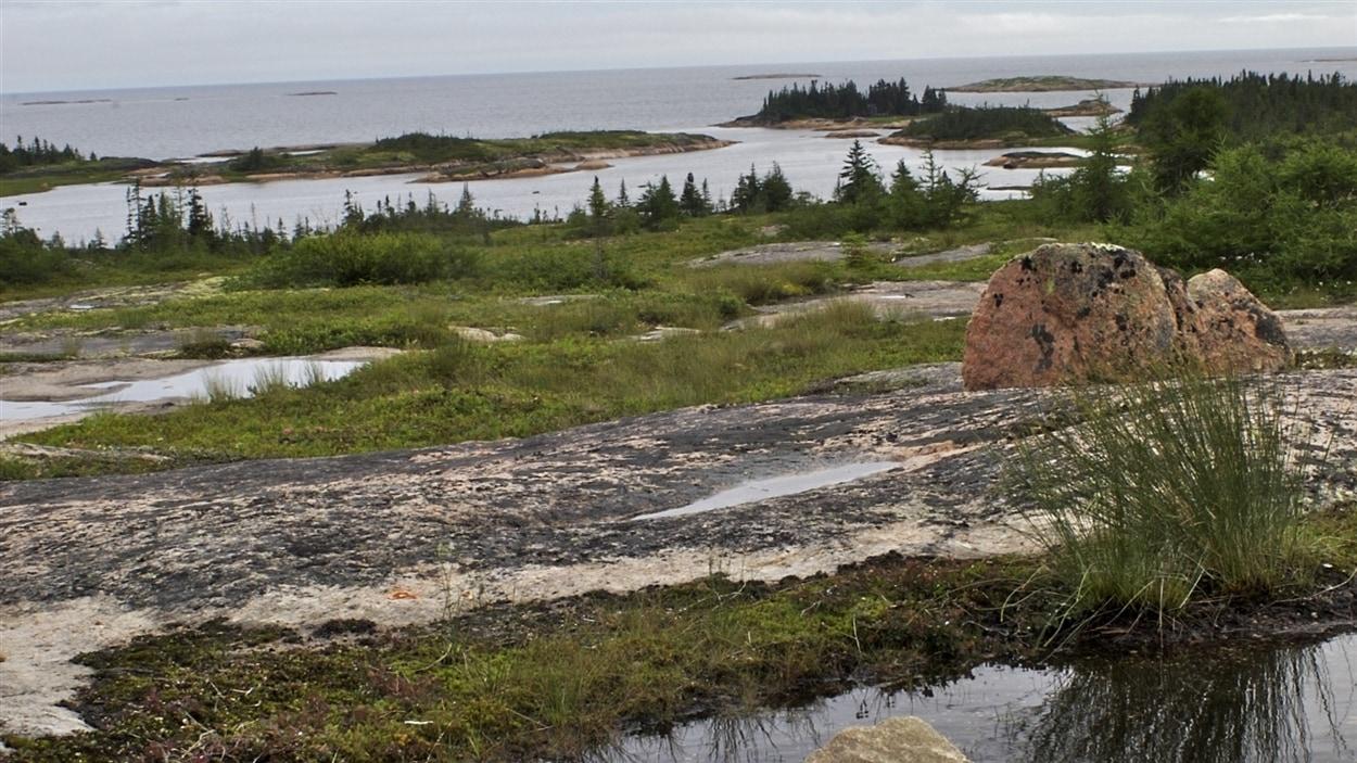 Un paysage du Grand Nord québécois