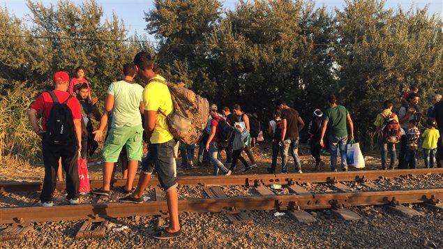 Migrants en Hongrie