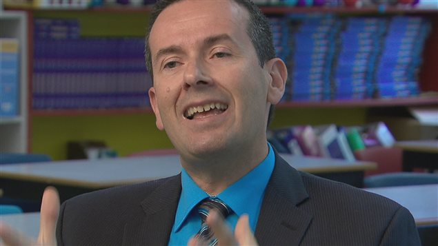 Le ministre de l'Éducation et procureur général du Nouveau-Brunswick, Serge Rousselle.