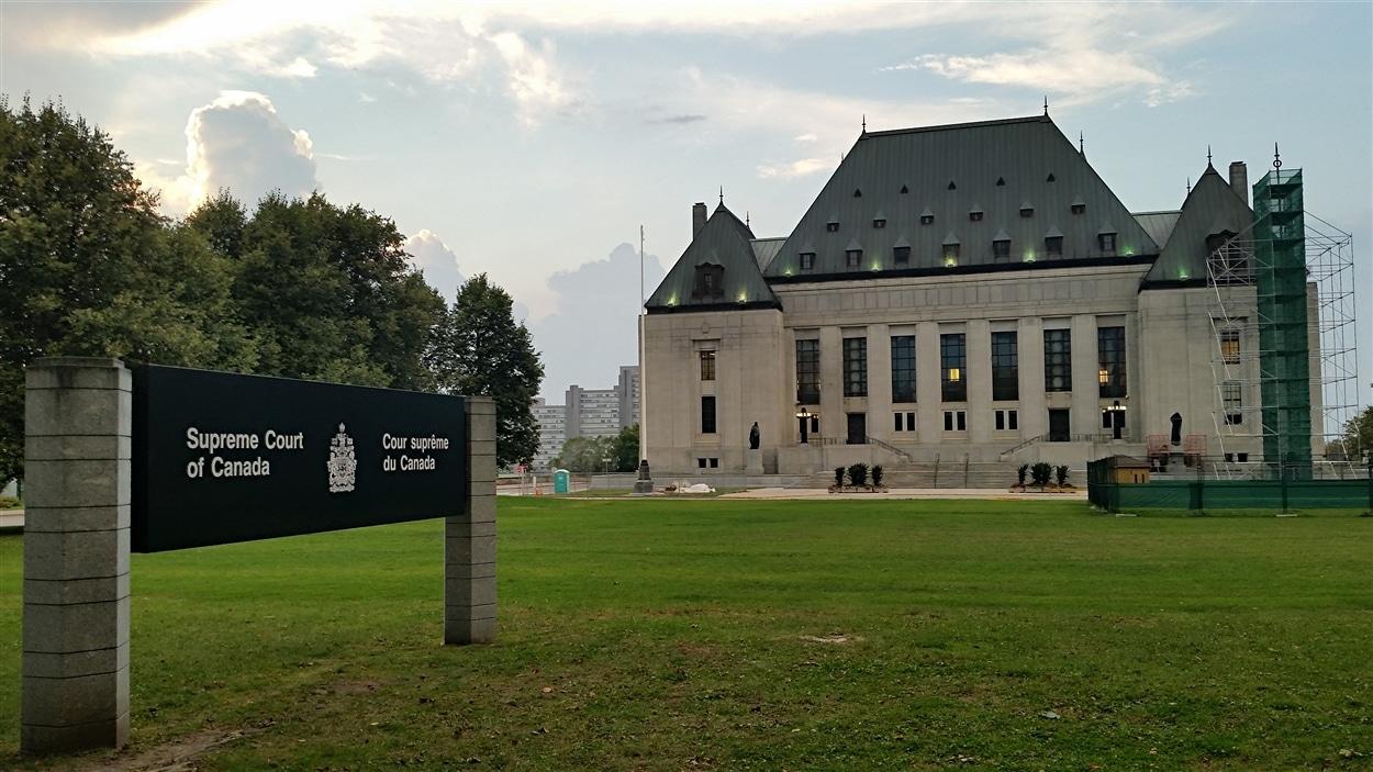 L'édifice de la Cour suprême du Canada, à Ottawa (archives)