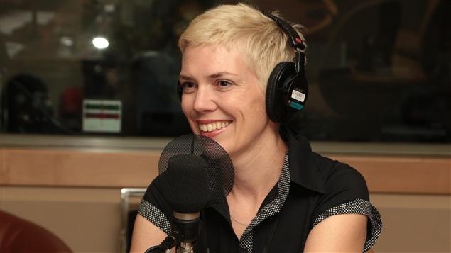 L'auteure Caroline Allard