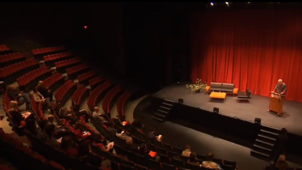 La salle de spectacle du Théâtre Centennial