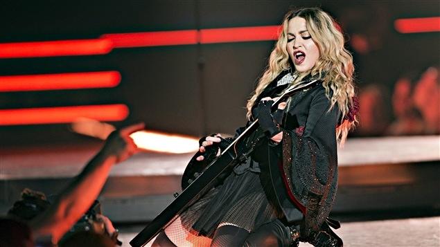 Madonna à la guitare