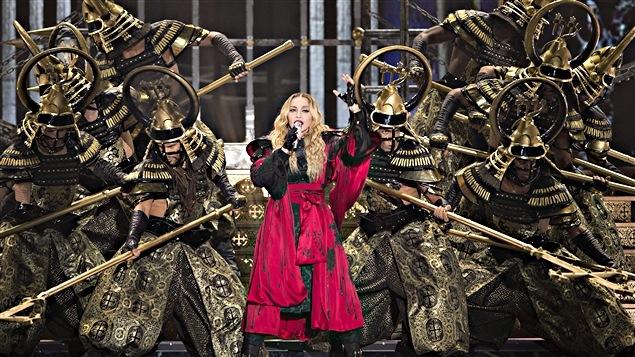 Madonna au Centre Bell