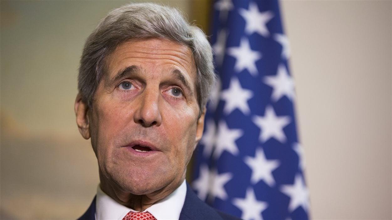 Le secrétaire d'État américain John Kerry