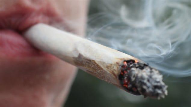 Un joint de marijuana