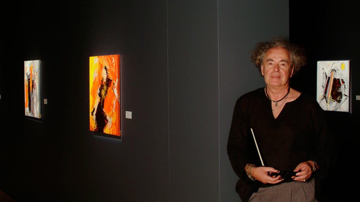 L'artiste-peintre René Lemay.