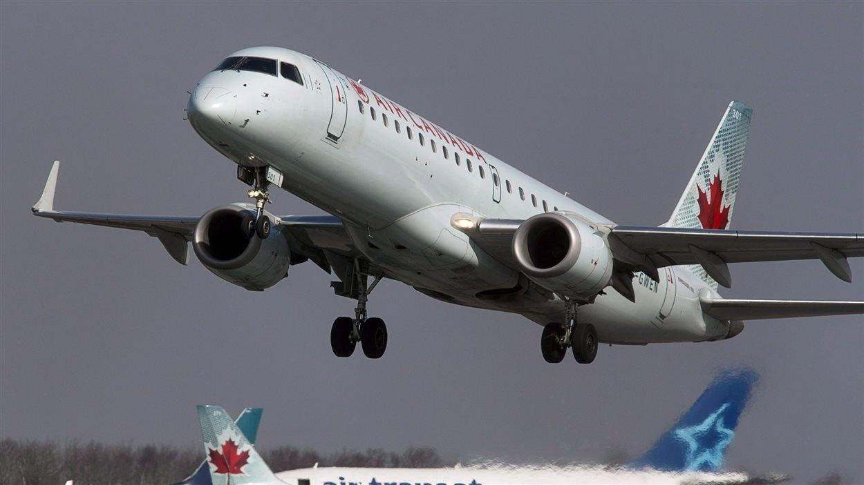 Un avion d'Air Canada