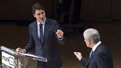 Les promesses de Trudeau sont-elles 25 fois plus coûteuses que celles de Harper? L'épreuve des faits